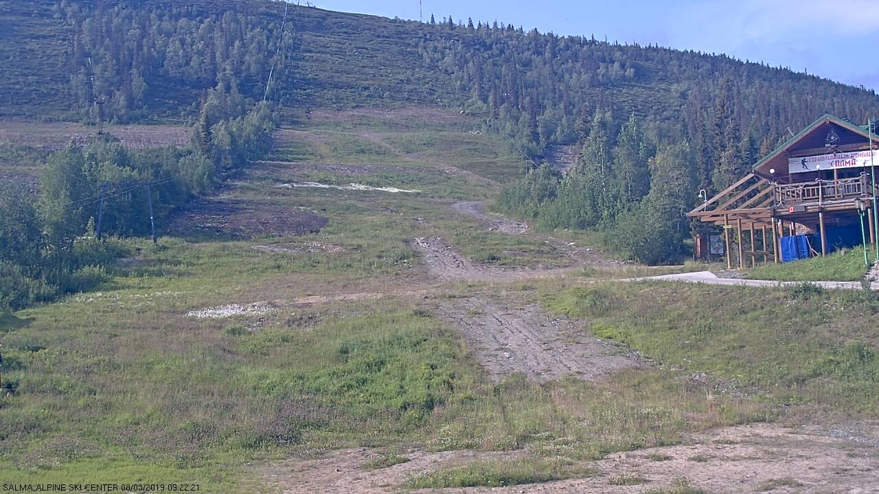 webcam neve Salma Alpine Ski Centre